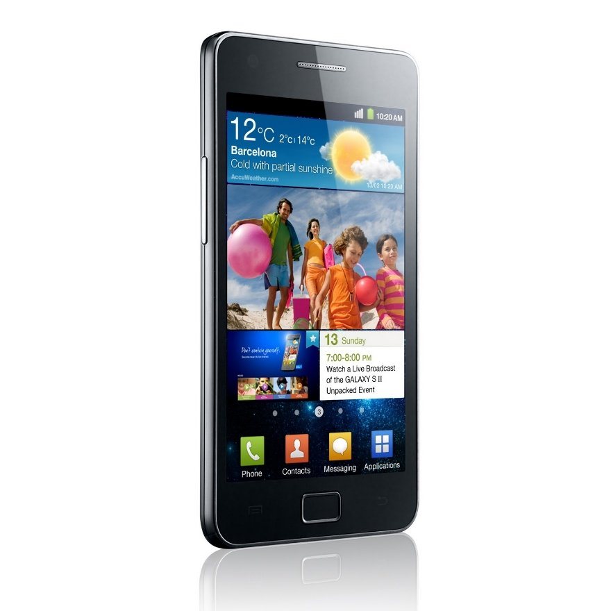 Samsung Galaxy S II: Offizielle Homepage ist online