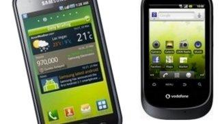 Samsung Galaxy S inkl. 2 Flats und weiteres Smartphone für 17,95 Euro im Monat