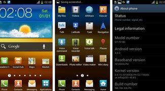 Samsung Galaxy S2: Ice Cream Sandwich-Firmware XXLPH aufgetaucht