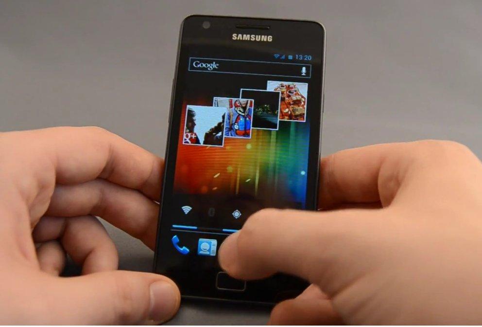 Samsung Galaxy S2: Ice Cream Sandwich-Firmware XXLP6 geleakt, CM9 per ROM Manager flashbar