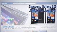Samsung Galaxy S2: Jelly Bean-Rollout in Korea mit Erklärbär-Video