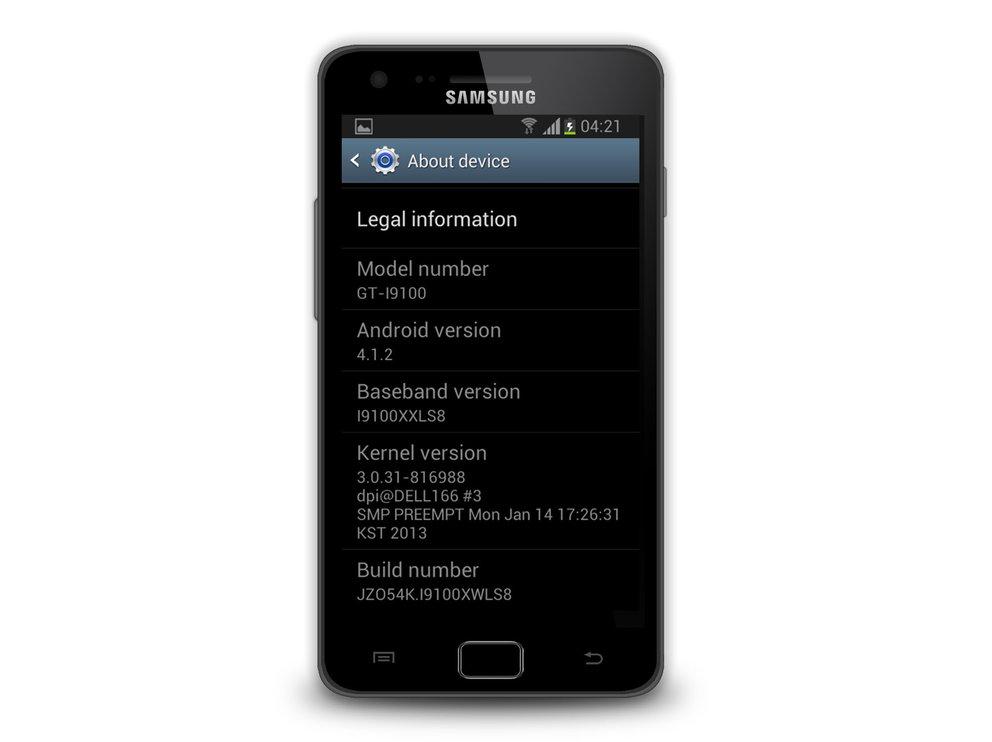 Samsung Galaxy S2: Jelly Bean-Update wird in Spanien verteilt