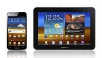 Samsung Galaxy S II, Tab 8.9: LTE-Versionen mit 1,5 GHz-CPU offiziell bestätigt