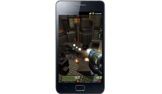 Samsung Galaxy S II: Schnellster Grafikchip aller Smartphones