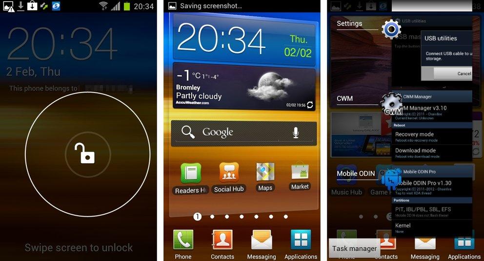 Samsung Galaxy S2: Ice Cream Sandwich-Update in den nächsten Tagen