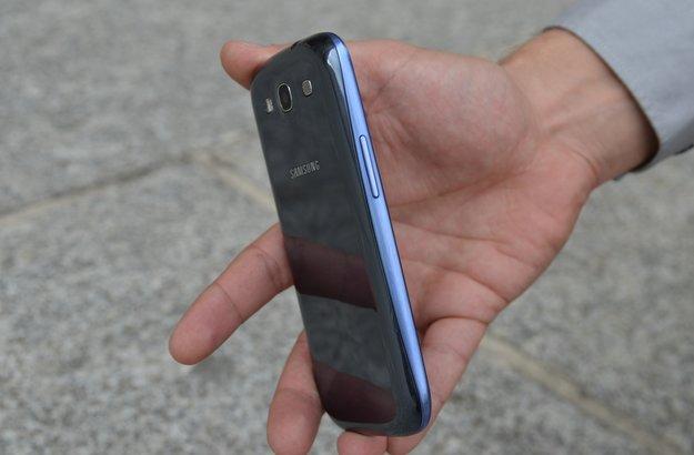 Samsung Galaxy S3: Blaue Version mit dunklerem Akkudeckel im Bild [EXKLUSIV] [UPDATE: Neue Fotos]