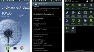 Samsung Galaxy S3: Android 4.2.2-Firmware I9300XXUFME3 geleakt