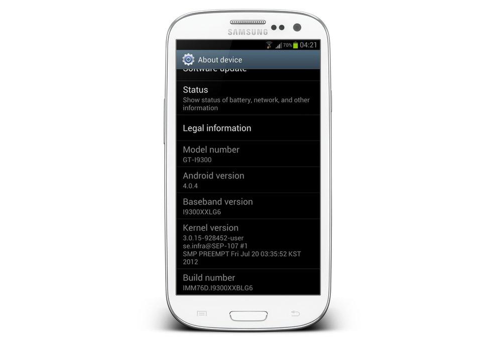 Samsung Galaxy S3: Neues Update auf XXBLG6 entfernt lokale Suche