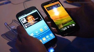 Samsung Galaxy S3 vs. HTC One X: Flaggschiffe im Fakten-Vergleich
