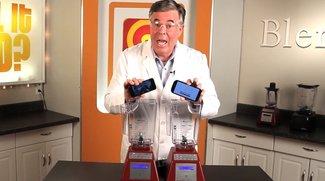 iPhone 5 vs. Samsung Galaxy S3: Top-Smartphones in Will-it-Blend-Video zerstört