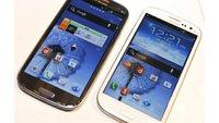 Samsung Galaxy S3: LTE-Version in Japan mit 2 GB RAM