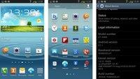 Samsung Galaxy S3: Weitere Firmware XXDLI1 auf Jelly Bean-Basis