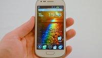Samsung Galaxy S3 mini im Test: Mini-Flaggschiff oder Mogelpackung?
