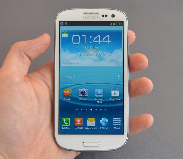 Samsung Galaxy S3 im Test: Die rohe Kraft im Plastikkleid