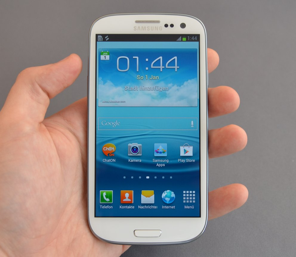 Samsung Galaxy S3: Display weniger hell als in den Vorgängern