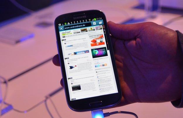 Samsung Galaxy S3: Erster Eindruck des neuen Flaggschiffs [Video]