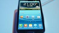 Samsung Galaxy S3: Hands-On mit dem Quad Core-Boliden