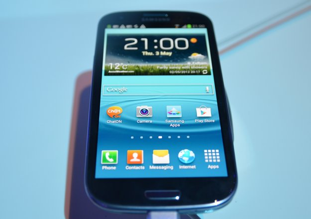 Samsung Galaxy S3: Hands-On mit dem Quad Core-Boliden