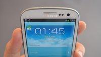 Samsung Galaxy S3: Erstes Firmware-Upgrade rollt in UK aus [Update: Jetzt auch in Deutschland]