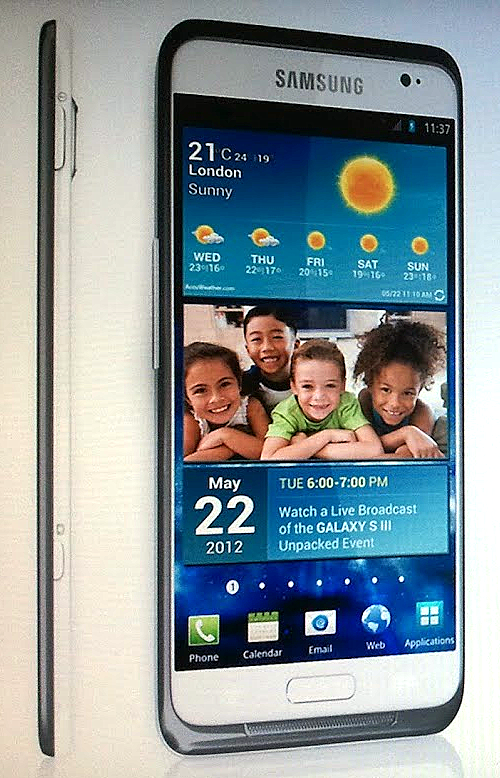 samsung galaxy s3 leak