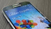 Samsung Galaxy S4: Gefallen, gesplittert, überfahren [Video]