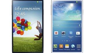 Samsung Galaxy S4: Display im Detailvergleich mit S3 &amp&#x3B; iPhone 5