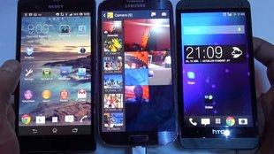 Samsung Galaxy S4: Display-Vergleich mit HTC One und Sony Xperia Z [Video]