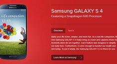 Samsung Galaxy S4: Qualcomm Snapdragon 600 als CPU bestätigt