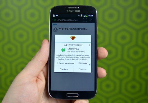 Samsung Galaxy S4: Root-Anleitung
