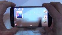 Samsung Galaxy S4: Exynos 5 Octa-Benchmark und UI-Walkthrough