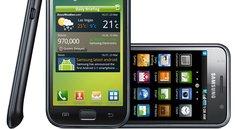 Samsung Galaxy S: Gingerbread-Update im März; Galaxy Tab später
