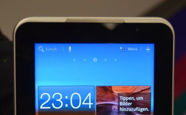 Samsung: Galaxy Tab 7.0 Plus & Tastatur vorgestellt, Interview, Ausblick 2012 [CES 2012]