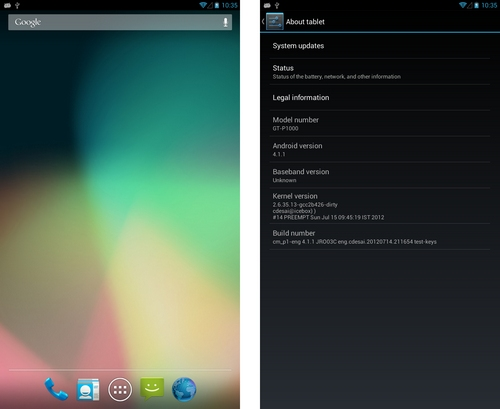 ^sasmung galaxy tab 10.1 jelly bean