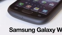 Samsung Galaxy W: Neues Smartphone im Video