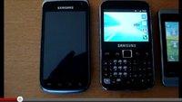 Samsung Galaxy W und Y Pro: Neues Videomaterial aufgetaucht