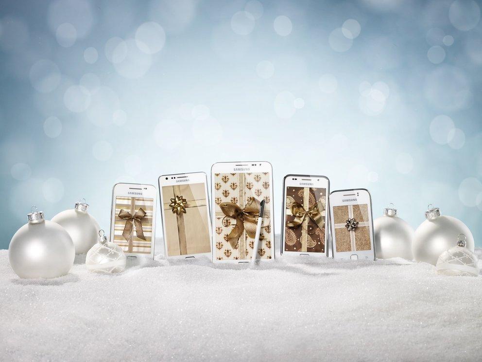 Samsung bietet ab Dezember 5 Galaxy Modelle in Weiß an