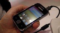 Es muss nicht immer High-End sein – Samsung Galaxy Y erhältlich