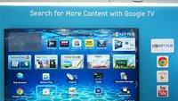 Samsung: Google TV-Fernseher in Arbeit