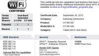 Samsung GT-N5100: Neues Galaxy Note-Modell aufgetaucht