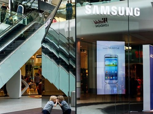 samsung temporary store westfield london