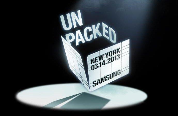 Samsung Galaxy S4: Unpacked 2013-Website online, genaue Location bestätigt