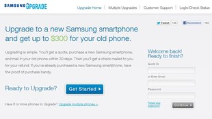 Samsung Upgrade: Trade-In-Service belohnt Galaxy-Kauf