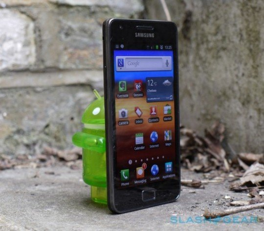 Samsung Galaxy S2: Video der offiziellen Android 4.0-Betaversion