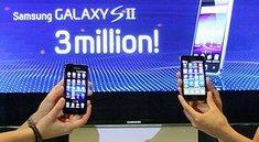 Samsung Galaxy S2: 3 Millionen verkaufte Geräte in 55 Tagen