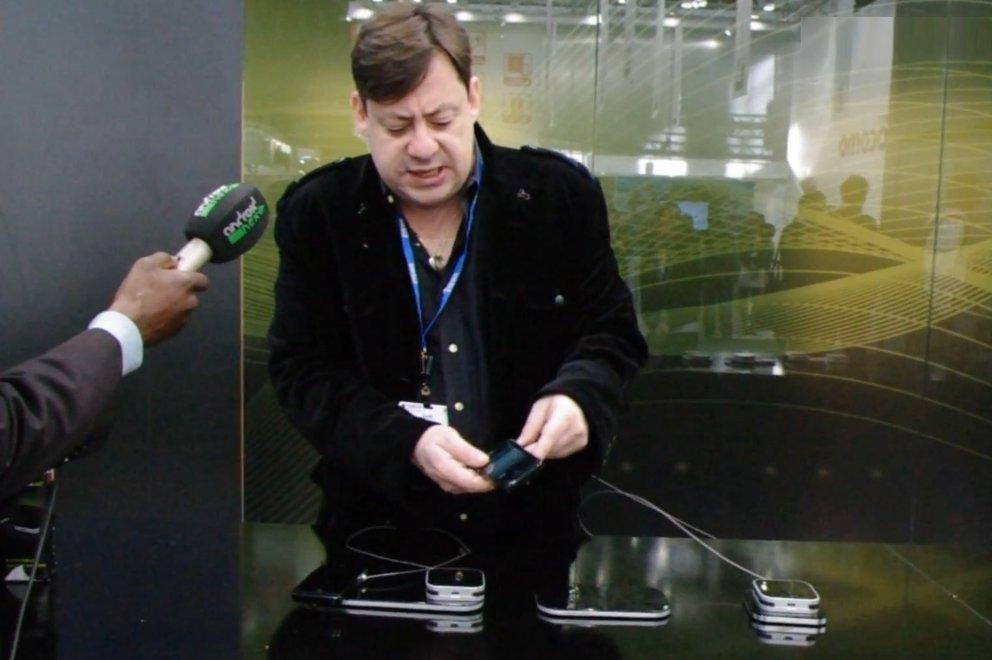 Duracell Powermat: Kabelloses Laden von Smartphones per Induktion [MWC 2012]