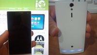 Sony Ericsson Xperia Nozomi: In Bild und Benchmark festgehalten