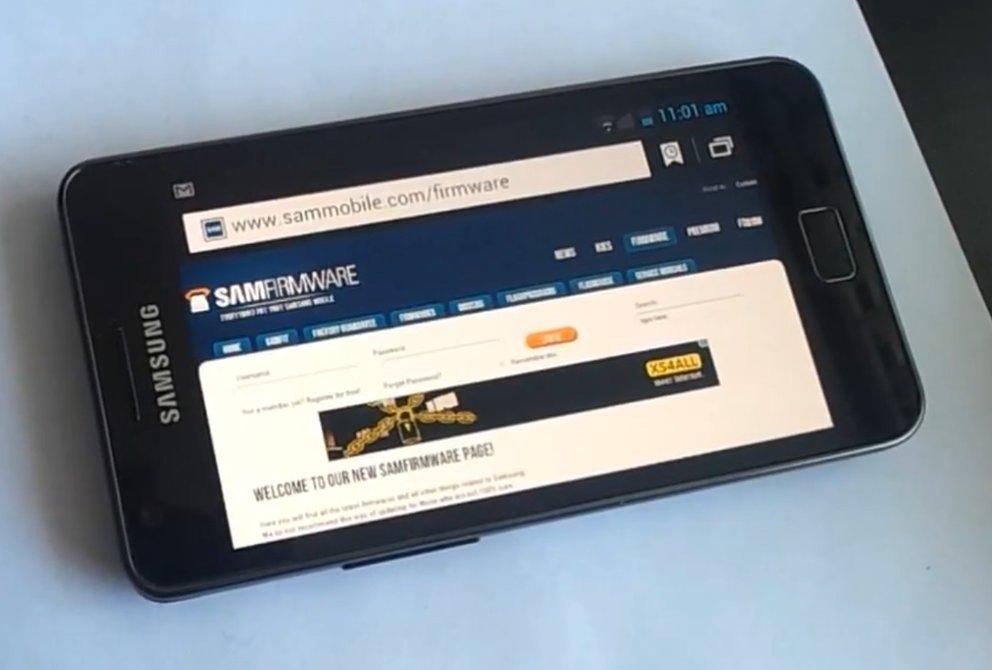 Samsung Galaxy S2: Ice Cream Sandwich-Firmware zum Download verfügbar [Update: Unser Hands On-Video]