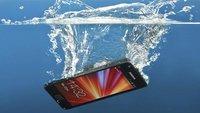 Handy-Wasserschaden: Smartphone nass geworden - was tun?