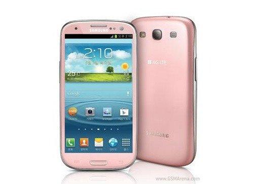 Samsung Galaxy S3: Pinkes Modell nächste Woche in Korea