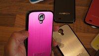 Samsung Galaxy S4: Günstige Metallcover von Xubix erhältlich [Video]